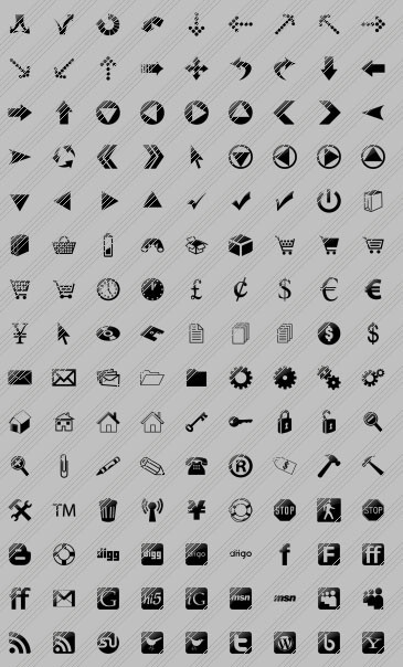 Vista Buttons Icons