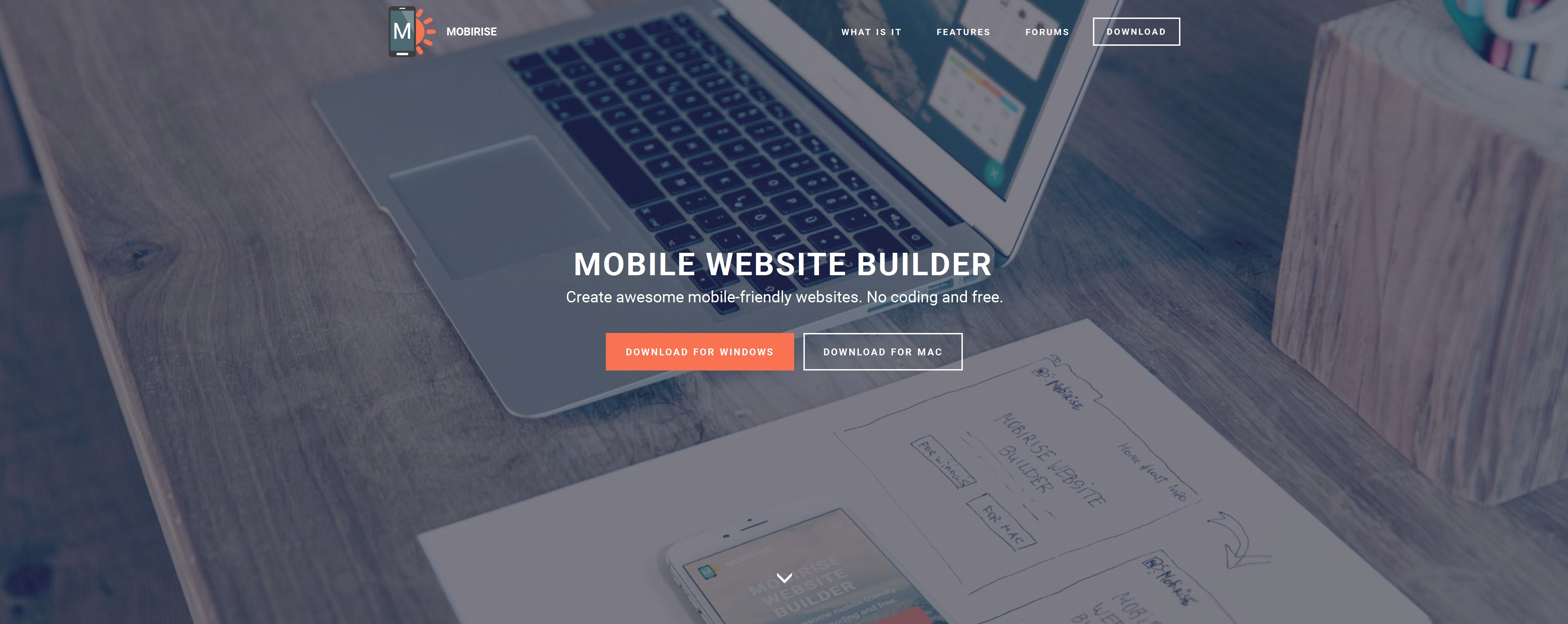 Bootstrap Mobile Website Creator Software