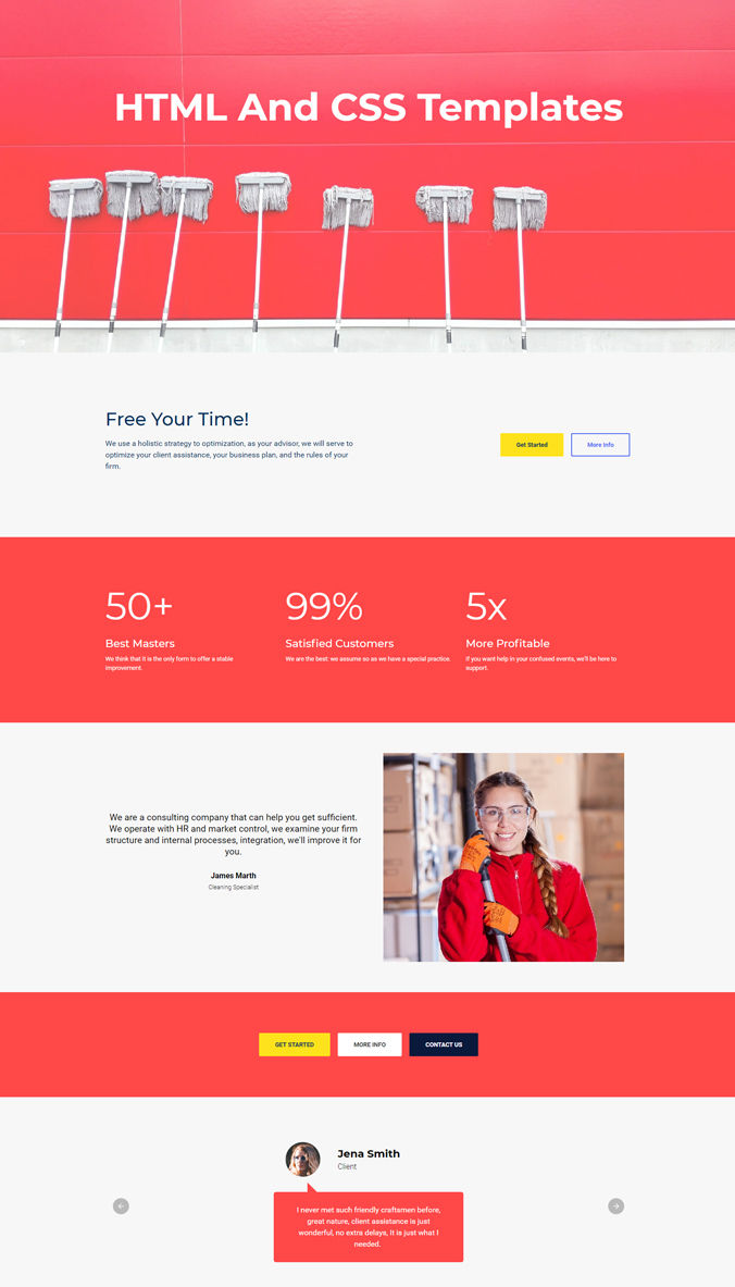 Website Responsive Template