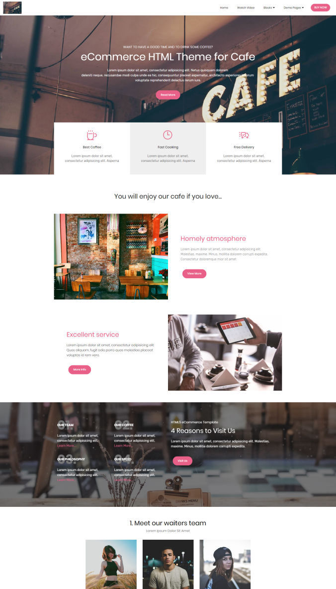 Free Homepage Template