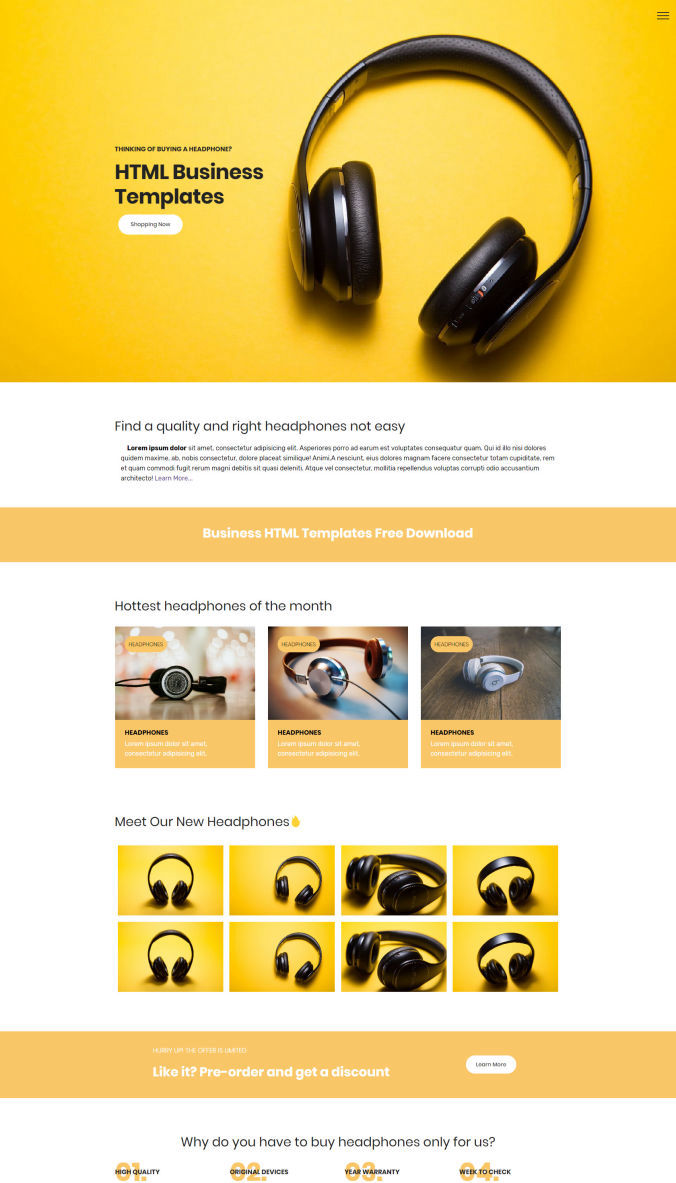Website Free Template