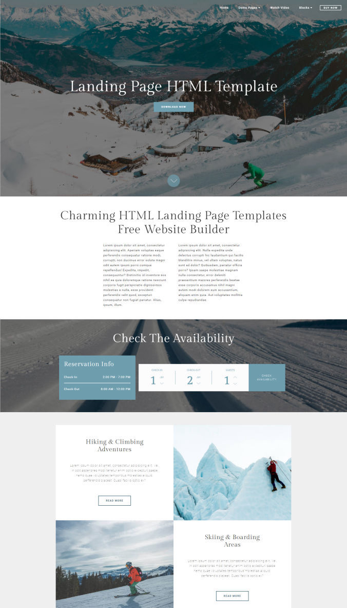 Website Best Template