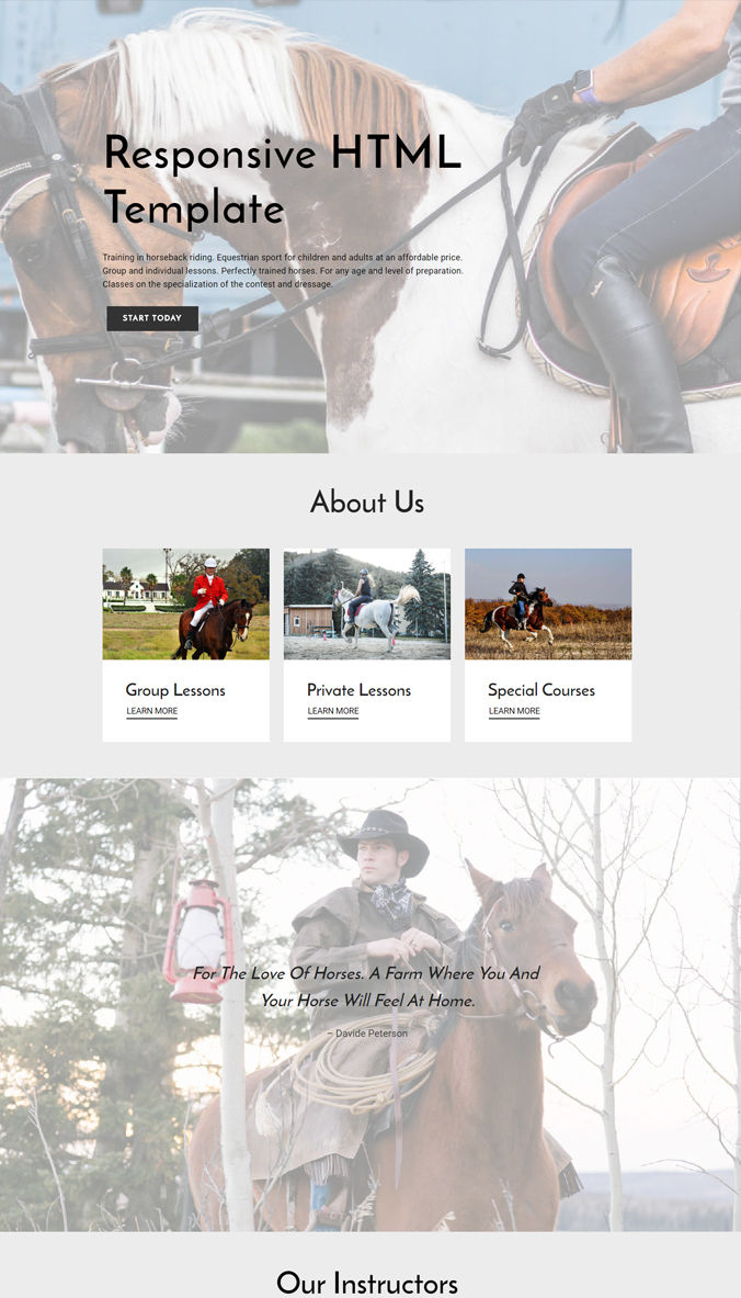 Website Wonderful Template