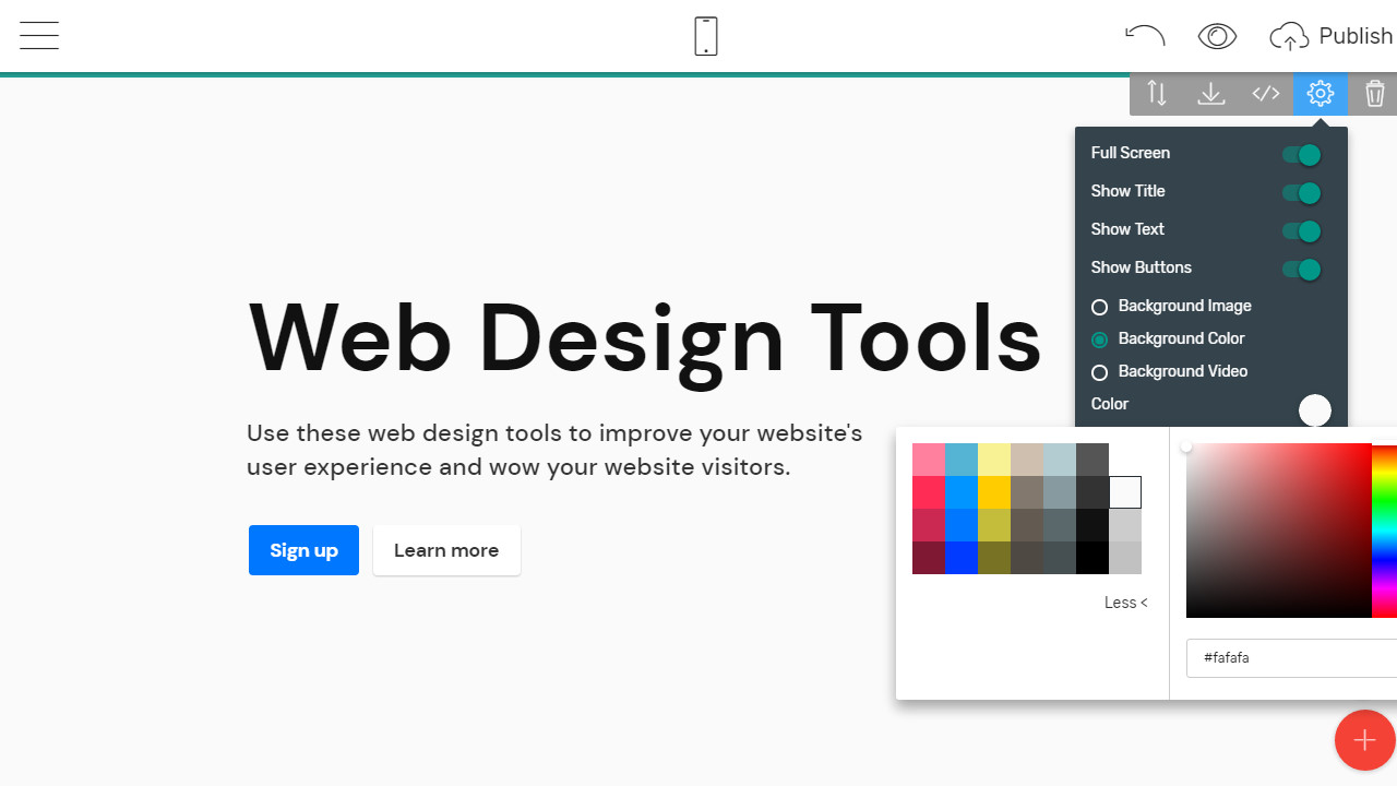 Free Website Creator