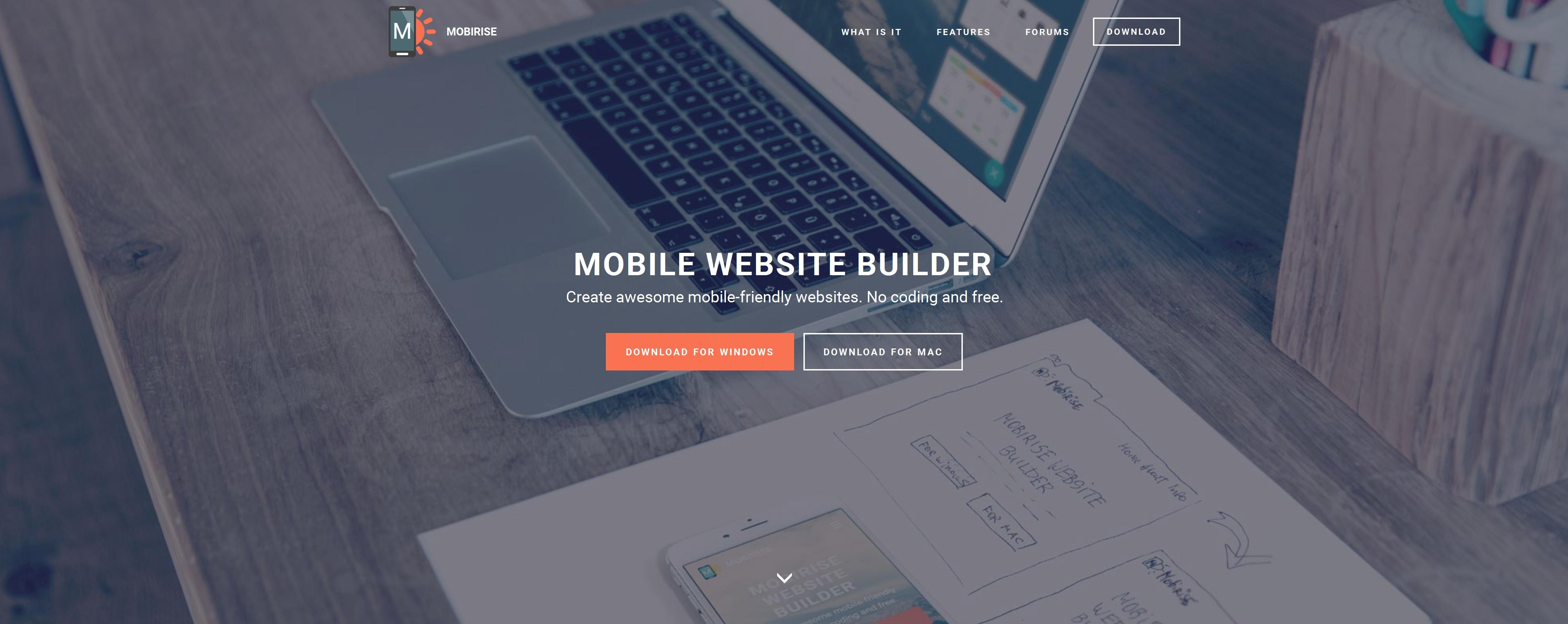 Bootstrap Mobile Website Creator Software