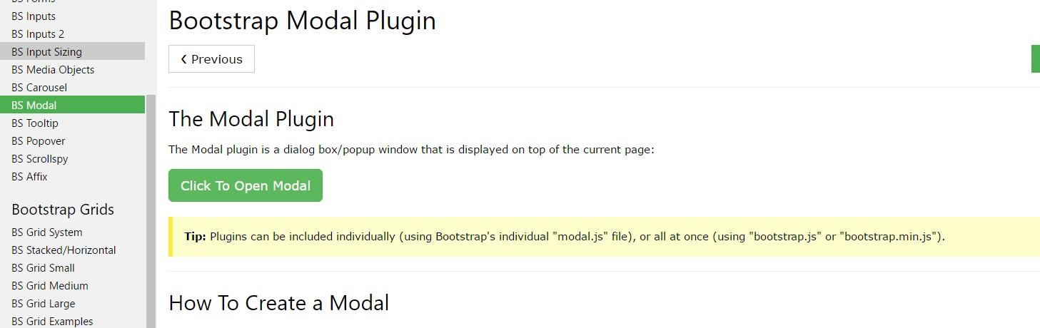 W3schools:Bootstrap modal tutorial