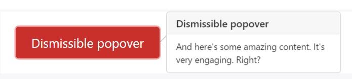 Dismiss on next click