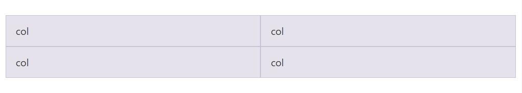 Equivalent width multi-row