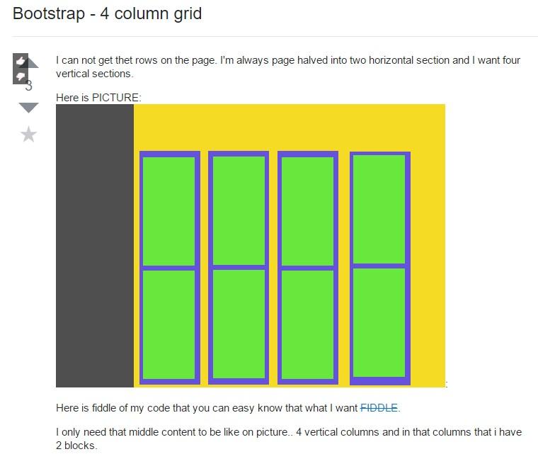 Bootstrap Grid column