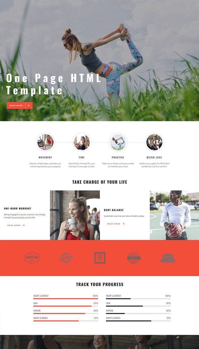 Best Homepage Template