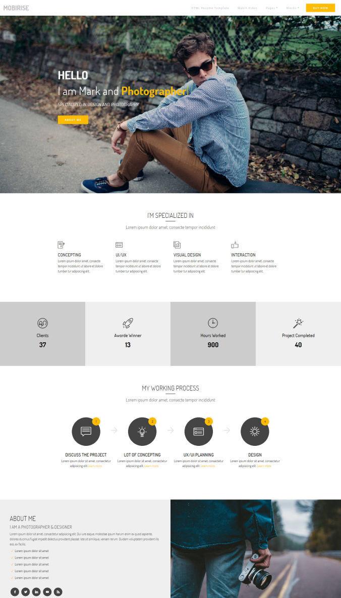 Website Simple Template