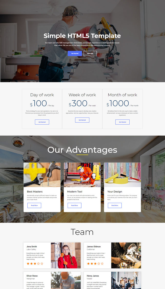 Website Perfect Template