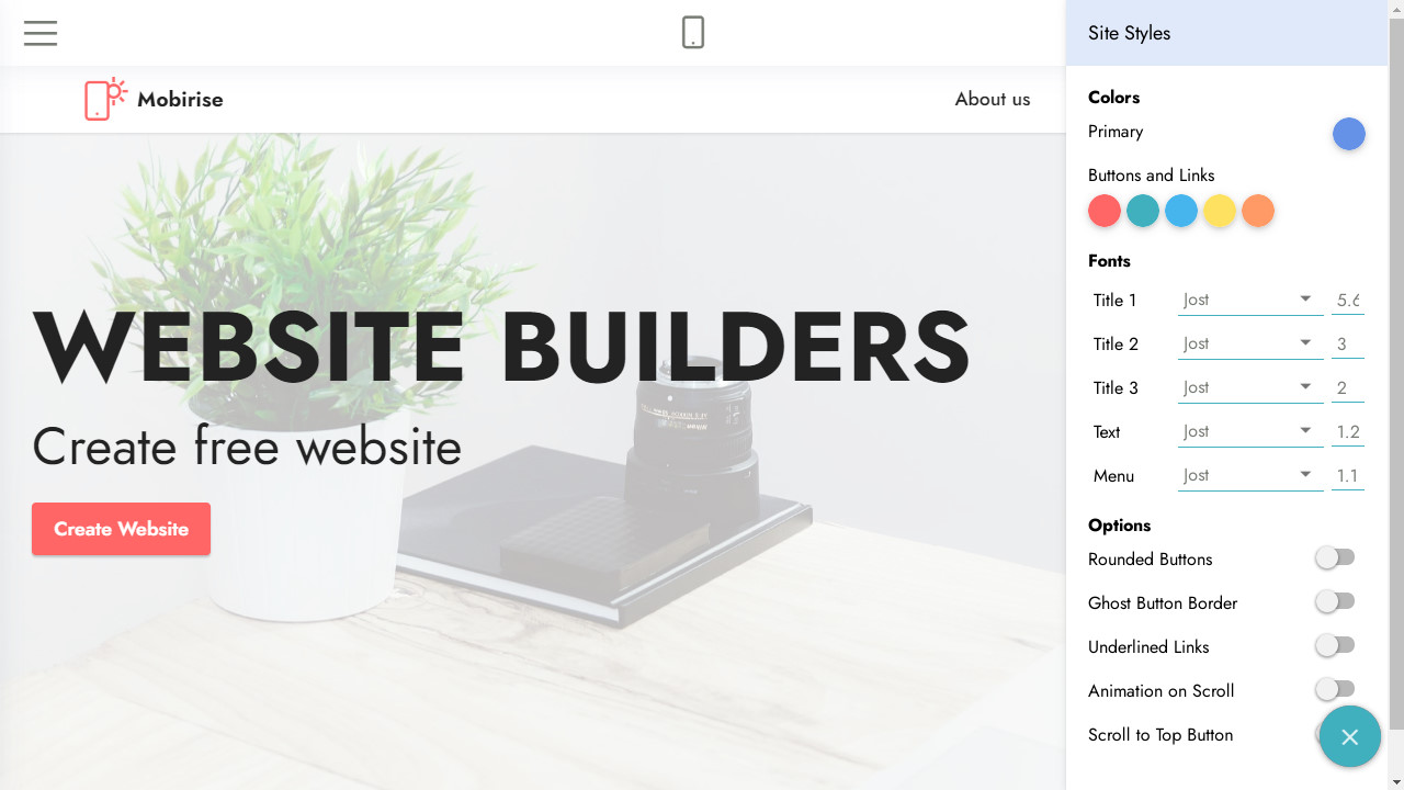 how to create a website from sctratch